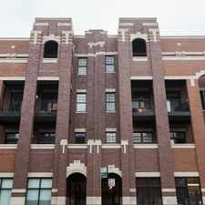 Rental info for North Halsted Street in the DePaul area