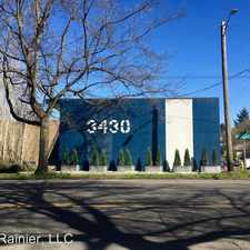 Rental info for 3430 Rainier Ave S - H in the Columbia City area