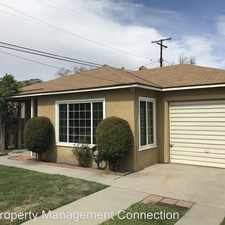 Rental info for 8353 Cheyanne Street in the Downey area