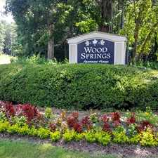 Rental info for Wood Springs Apartments in the Birmingham area
