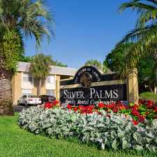 Rental info for Silver Palms Apartments in the Largo area