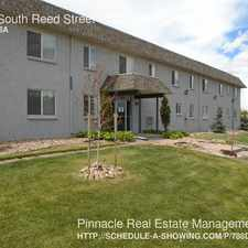 Rental info for 1175 South Reed Street in the Denver area