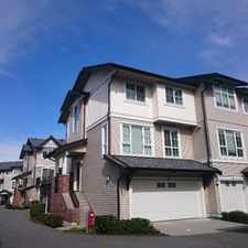 Rental info for South Surrey Whiterock Townhouse For Rent