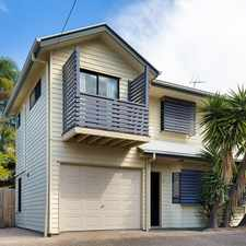 Rental info for Quiet Townhouse with Courtyard in the Brisbane area