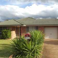 Rental info for LARGE HOME THAT TICKS ALL THE BOXES in the Cessnock area