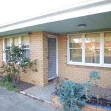 Rental info for Ground floor two bedroom unit in great location in the Glengowrie area