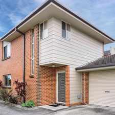 Rental info for 2/44 Wattle St, East Gosford in the East Gosford area