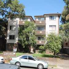 Rental info for RENOVATED 2 BEDROOM APARTMENT - CATS WELCOME in the Moorebank area