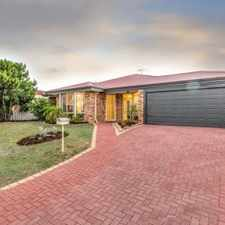Rental info for STUNNING HOME IN GREAT LOCATION! in the Quinns Rocks area