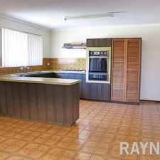 Rental info for Large Family Home In A Great Location in the Perth area
