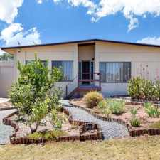 Rental info for 3 Bedroom home in great quiet location!! ***SOLAR PANELS TO KEEP ELECTRICITY BILL DOWN*** in the Para Hills area
