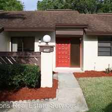 Rental info for 4037 Bluff Oak Ct. in the Palm Harbor area