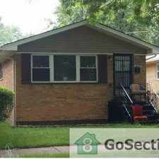 Rental info for ==> A MUST SEE 5 BEDROOM HOUSE - READY NOW FOR RENT @ 115TH & MORGAN <== in the Morgan Park area