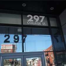 Rental info for 297 College Street #825 in the Kensington-Chinatown area