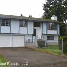 Rental info for 18714 9th Ave E