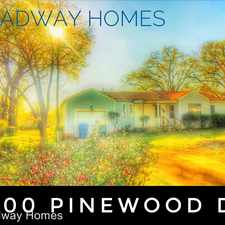 Rental info for 1800 Pinewood Dr
