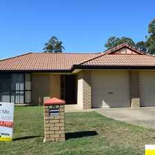 Rental info for OPEN HOME: SAT 24 JUN @ 11:30AM FABULOUS FOREST LAKE ** NEW CARPETS & DISHWASHER ** 4 BED. 2 BATH. 2 GAR in the Brisbane area