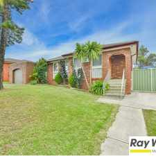 Rental info for 3 beds with in ground pool. Get in now before the summer rush. in the Glenfield area