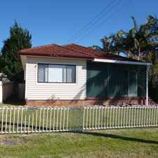 Rental info for Affordable 3 Bedroom Home in the Wollongong area
