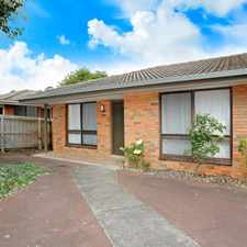 Rental info for QUIET 2 BEDROOM UNIT IN SOUGHT AFTER SPOT in the Warrnambool area