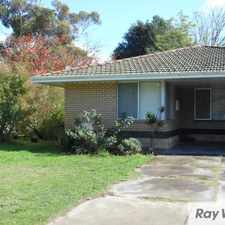Rental info for Neat and tidy duplex with enclosed yard