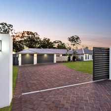 Rental info for PRESTIGIOUS NEAR NEW HOME IN EXCLUSIVE ESTATE!! in the Burpengary East area
