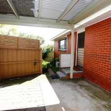 Rental info for Tucked Away Unit in the Geelong area