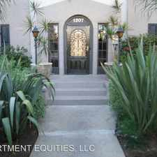 Rental info for 1207 N. Orange Drive - low unit low unit in the Los Angeles area