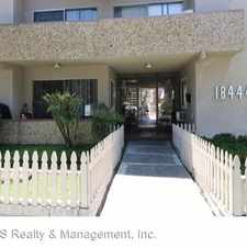 Rental info for 18444 Collins Street - #18 in the Tarzana area