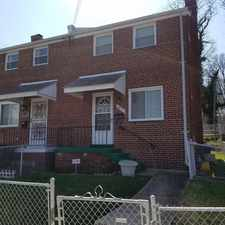 Rental info for 4273 Hildreth St, SE in the Fort Dupont area
