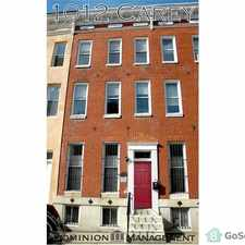 Rental info for Newly Renovated Interior! Tall Ceilings! Modern Fixtures! *Sign a two year lease and pay only $500 for your security deposit! in the Sandtown-Winchester area