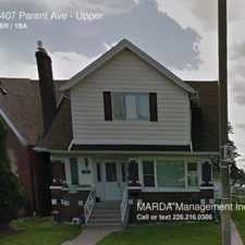 Rental info for 1407 Parent Ave in the East Windsor area