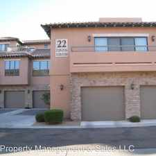 Rental info for 20660 N. 40th St. #2136