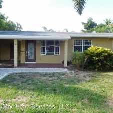 Rental info for 1401 NE 14 CT in the Poinsettia Heights area