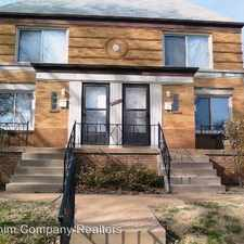 Rental info for 6227 Eichelberger St. Unit A in the St. Louis Hills area