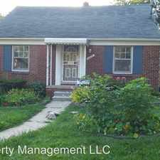 Rental info for 14668 Archdale in the Detroit area