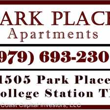 Rental info for 1505 PARK PLACE in the College Station area