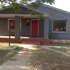 Rental info for 2310 15th Street in the Lubbock area