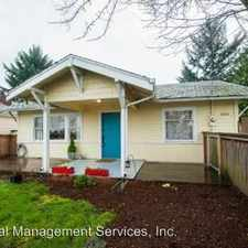 Rental info for 5822 NE 42nd Avenue in the Cully area