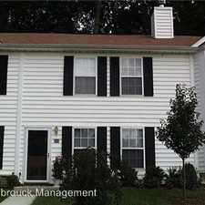 Rental info for 988 Towne Lane in the Charlottesville area