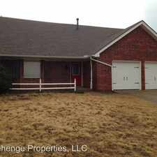 Rental info for 308 Woodside Drive in the 73069 area