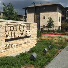 Rental info for Lotus Village in the North Lamar area
