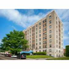 Rental info for Ambassador Apartments in the Pittsburgh area