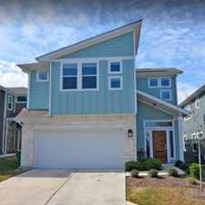 Rental info for $3500 3 bedroom House in Central Austin Travis Heights in the Montropolis area