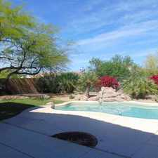 Rental info for Beautiful Home In Troon North Area. Washer/Drye...