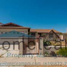 Rental info for 272 Coolwater Drive in the San Diego area