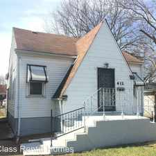 Rental info for 612 Hovey