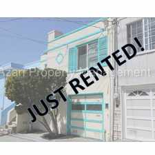 Rental info for AZARI PM - Great 2 Bedroom house Plus Bonus Rooms - House in a Wonderful Location in Visitacion Valley in the McLaren Park area