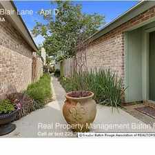Rental info for 5222 Blair Lane in the Baton Rouge area