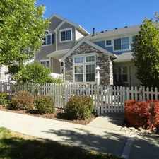 Rental info for Gorgeous four bedroom, four bathroom Broadlands townhome for rent with open floor plan